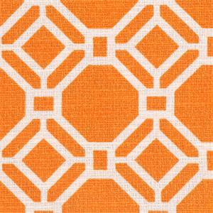 Alroy Sussex Orangeeade Drapery Fabric By Swavelle