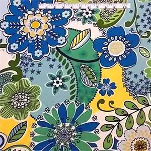 Dance Floor Madden Spring Water Floral Drapery Fabric By Swavelle