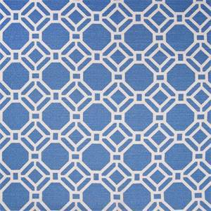 Alroy Sussex Sky Geometric Cotton Drapery Fbaric by Swavelle Mill Creek Fabrics