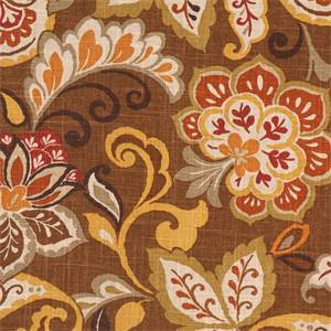 Jali Cliffside Mocha Drapery Fabric by Swavelle Mill Creek Fabrics