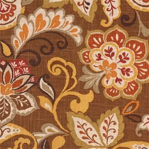 Jali Cliffside Mocha Drapery Fabric by Swavelle Mill Creek Fabrics