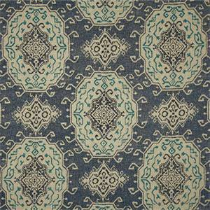 Prestwick Cliffside Delft Drapery Fabric By Swavelle