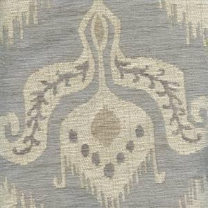 Maya Mineral Ikat Upholstery Chenille