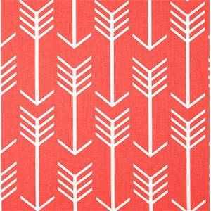 Arrow Indian Coral Outdoor Upholstery Fabric by Premier Prints 30 Yard Bolt