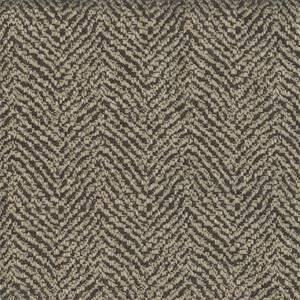 Baxter Jet Herringbone Drapery Fabric