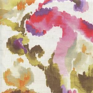 Neville Thyme Cotton Drapery Print
