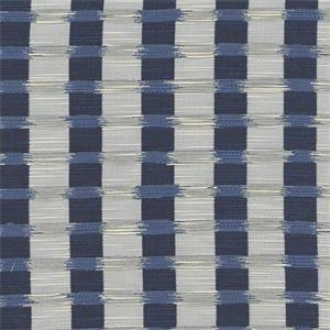Tobago Indigo Drapery Fabric