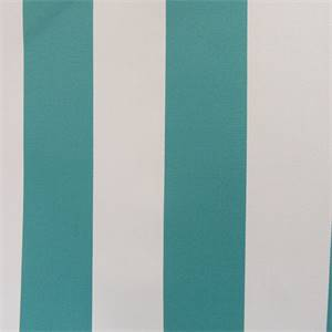 Cabana Stripe Baltic Snow Outdoor Upholstery Fabric Swatch