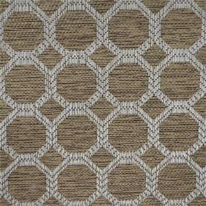 R Dax Vicuna Geometric Upholstery Fabric