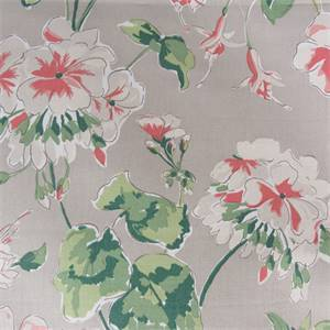 Mirador Morning Oyster Cotton Drapery Fabric