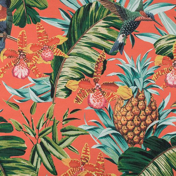 Paradise Happiness Tropical Drapery Fabric
