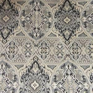 M10027 Jacquard Mink Onyx Upholstery Fabric by Barrow Merrimac Fabrics