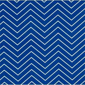 Chevron Cobalt Outdoor Upholstery Fabric by Premier Prints Fabrics 30 Yard Bolt