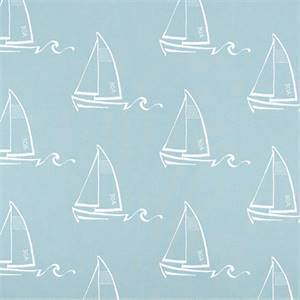 Seaton Spa Blue Drapery Fabric by Premier Prints Fabrics
