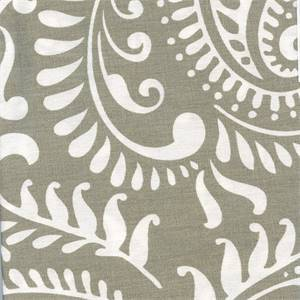 Walker Cove White Floral Drapery Fabric by Premier Prints 30 Yard Bolt