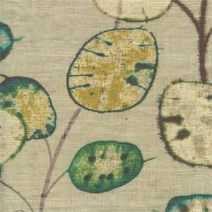 Honesty Jewel Linen Blend Drapery Fabric