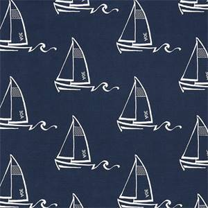 Seaton Vintage Indigo Drapery Fabric by Premier Prints Fabrics 30 Yard Bolt