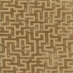 1 Yard Piece Recoleta Document Gold Greek Key Chenille Upholstery