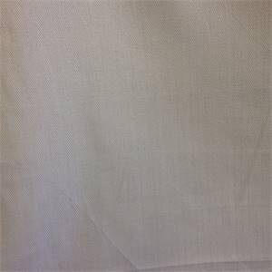 Hero Grey Solid Herringbone Drapery Fabric