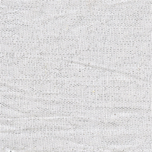 Shimmer White Silver Solid Linen Drapery Fabric