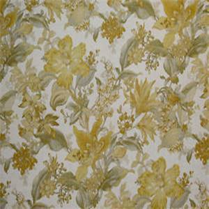 Wentworth Blonde Floral Drapery Fabric