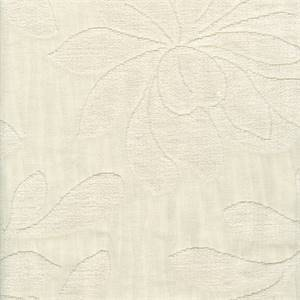 Majestic Embossed Snow Leaf Design Upholstery Fabric