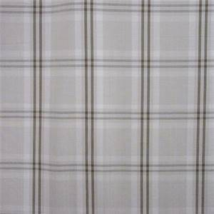 Wilton Cotton Plaid Beige Mocha Drapery Fabric by Waverly Fabrics