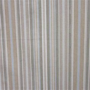 Avignon Stripe Chanterelle Tan Ribbon Stripe Drapery Fabric