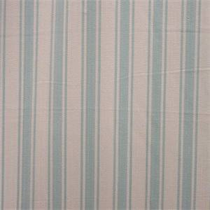 Nantucket Ivory Blue Herringbone Stripe  Fabric