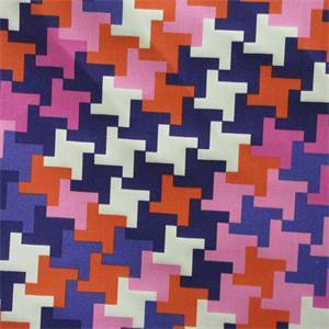 Jax Print Violet Outdoor Fabric by Waverly