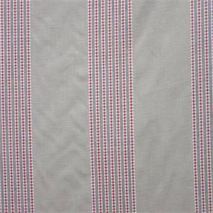 Dunbar Sienna Stripe Linen Fabric