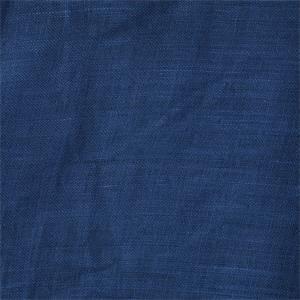 San Rafael Sheer Mediterranean Blue Linen Fabric
