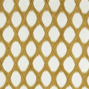 Brissac Daffodil Diamond Pintuck Ikat Fabric