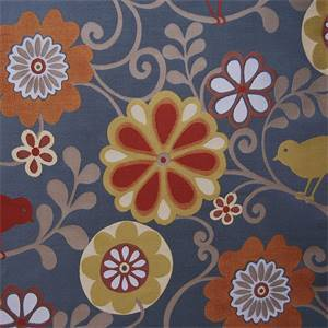 Happy as a Lark Sunset Upholstery Fabric by Swavelle Millcreek