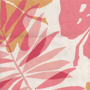 Bella Pink Floral Drapery Fabric