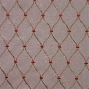 Genova Embroidery Camel Drapery Fabric by Swavelle Mill Creek
