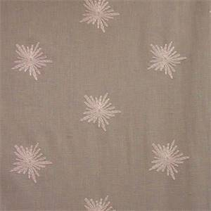 Clea Haze Grey Embroidered Drapery Fabric by Swavelle Mill Creek
