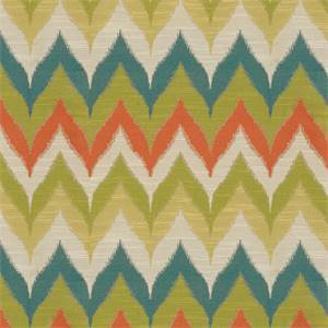 Kosala Zig Zag Chevron Tropical Upholstery Fabric By Swavelle