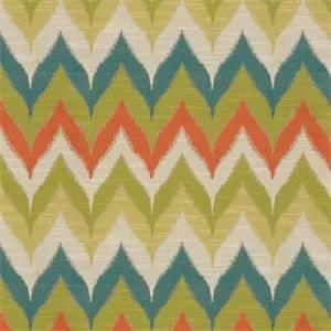 Kosala Zig Zag Chevron Tropical Upholstery Fabric By Swavelle