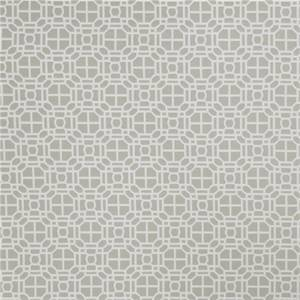 02602 Geometric Dove Grey by FabriCut