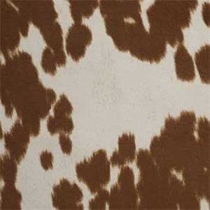 Udder Madness Brindle Faux Fur Upholstery Fabric