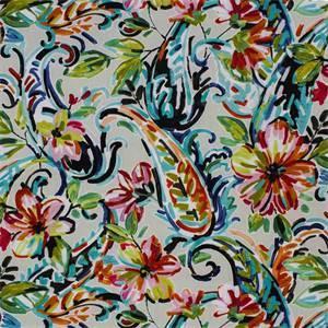 Marisol Jewel Floral Printed Drapery Fabric