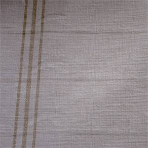 Hopsack Sand Striped Upholstery Fabric