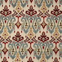 Sandoa Flame woven Ikat Upholstery Fabric by Swavelle Mill Creek
