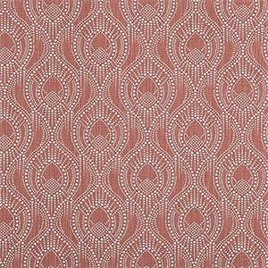 Alyssa Scarlet Slub Canvas Printed Drapery Fabric by Premier Print Fabrics 30 Yard Bolt