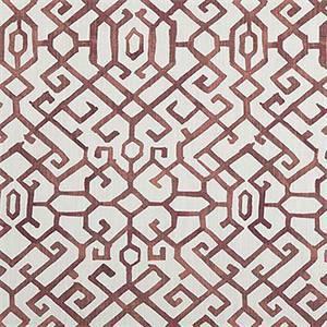 Jing Scarlet Slub Canvas Printed Drapery Fabric by Premier Print Fabrics 30 Yard Bolt