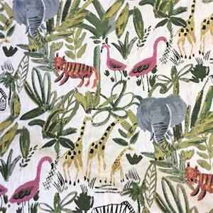 Wild Kingdom Multi Upholstery Fabric by Swavelle / Millcreek