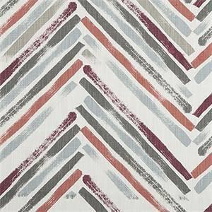 Stella Scarlet Slub Canvas Printed Drapery Fabric by Premier Print Fabrics 30 Yard Bolt