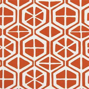 Aiden Orange Indoor/Outdoor Fabric by Premier Print Fabrics 30 Yard Bolt