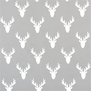 Antlers Storm Twill Cotton Drapery Fabric by Premier Print Fabrics 30 Yard Bolt